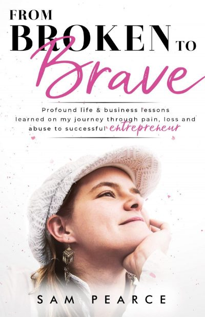 """From Broken to Brave"" Front Cover"