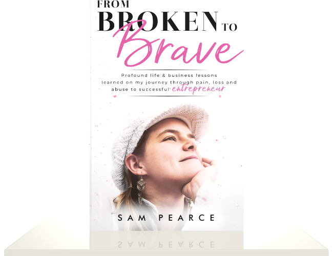 From Broken to Brave cover rendering
